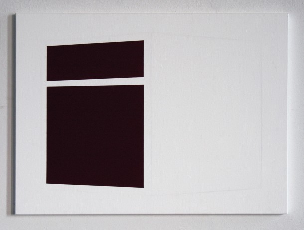 Joung-en Huh: Villa – B1, Acrylic on Canvas, 55 x 77 cm, 2007