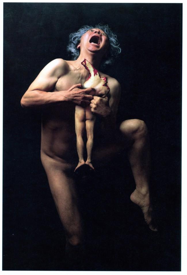 Yasumasa Morimura: Exchange of Devouring, 2004, Farbfotografie auf Leinwand ed. 10, 90 x 60 cm © Yasumasa Morimura, Galerie Thaddaeus Ropac /Paris Salzburg