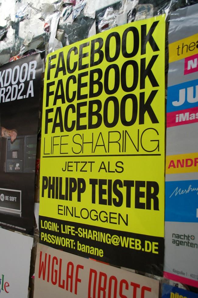 Philipp Teister - Facebook lifesharing. 2011