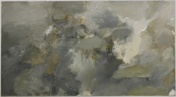 Steven Black: SB 2012.03 / Öl auf Leinwand, 110 x 200 cm / Galerie Alexandra Saheb, Berlin
