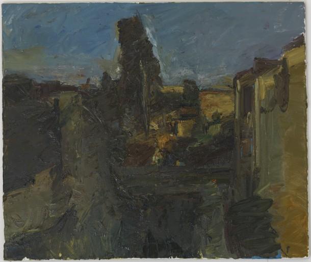 Steven Black: SB 2011.02, Öl auf Leinwand, 40 x 50 cm