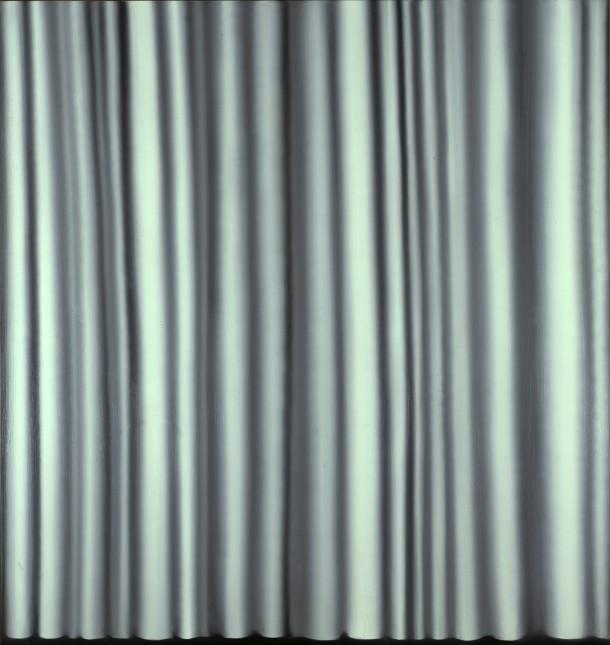 Gerhard Richter: Vorhang III, 1965, 200 x 195 cm, Öl auf Leinwand | Staatliche Museen zu Berlin, Nationalgalerie | © Gerhard Richter 2012