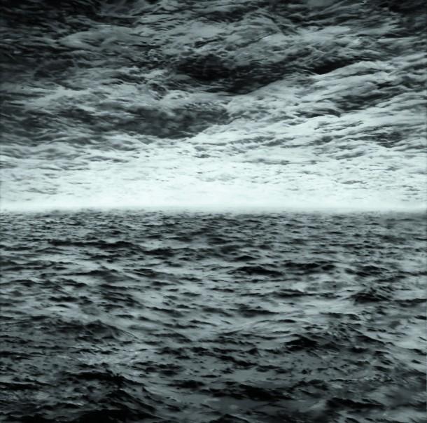 Gerhard Richter: Seestück (See-See), 1970, 200 x 200 cm, Öl auf Leinwand | Staatliche Museen zu Berlin, Nationalgalerie | © Gerhard Richter 2012