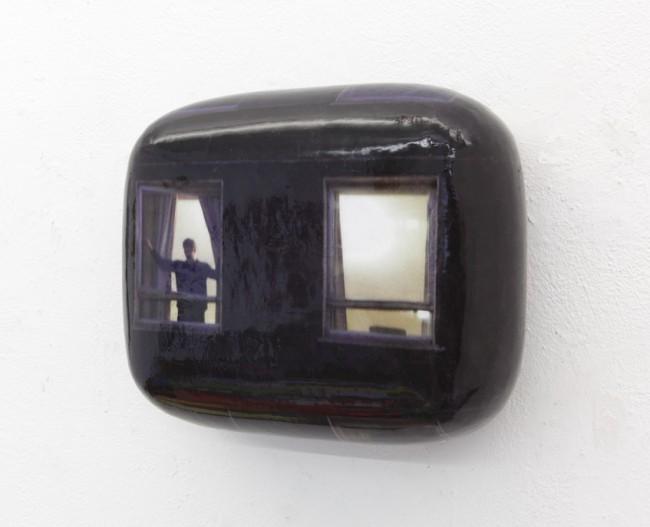 Hein Spellmann: Fassade 183 (Mann am Fenster), 2012