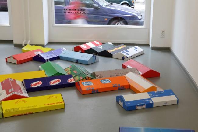 Hein Spellmann: Nordmeile, 2011, Ausstellungsansicht, Galerie Rasche Ripken Berlin, 2012