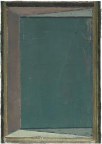 Pius Fox, Eingang, 24 x 17 cm, Öl auf Papier, 2011