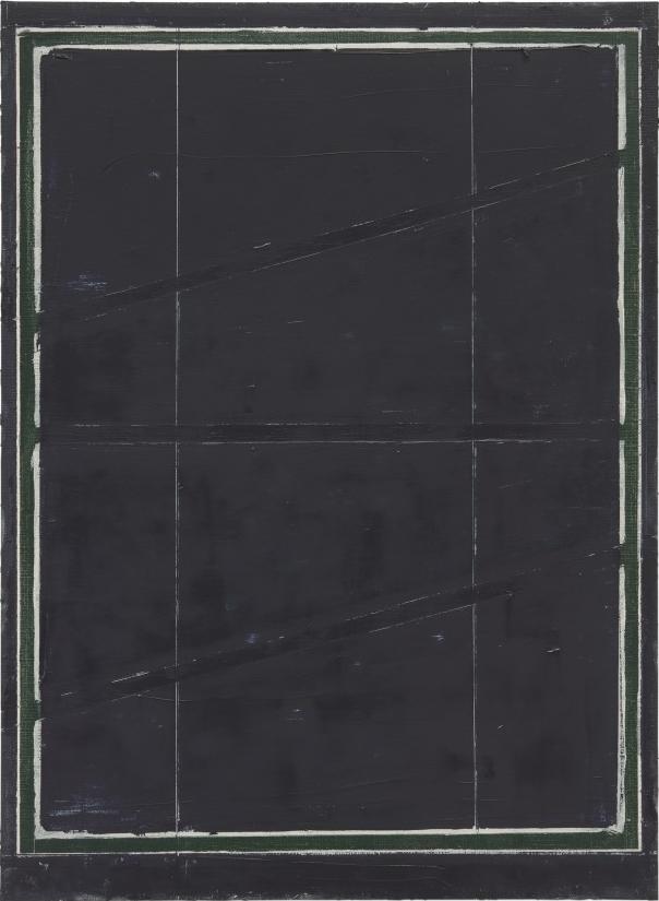 Pius Fox: o.T., 33 x 24 cm, Öl auf Papier, 2012