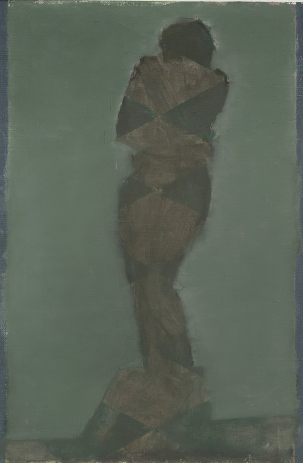 Pius Fox: Katalog, 24 x 19 cm, Öl auf Papier, 2012