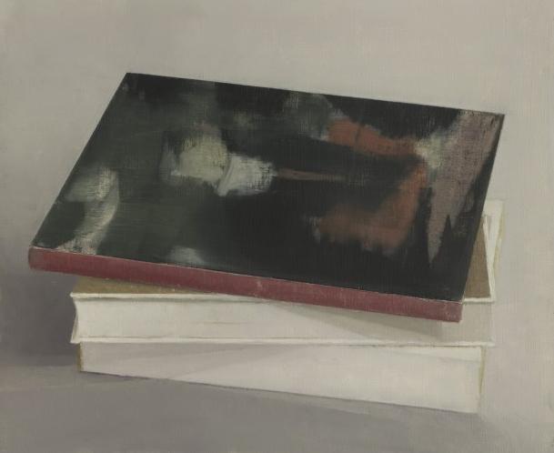 Pius Fox: o.T., 30 x 20 cm, Öl auf Papier, 2013