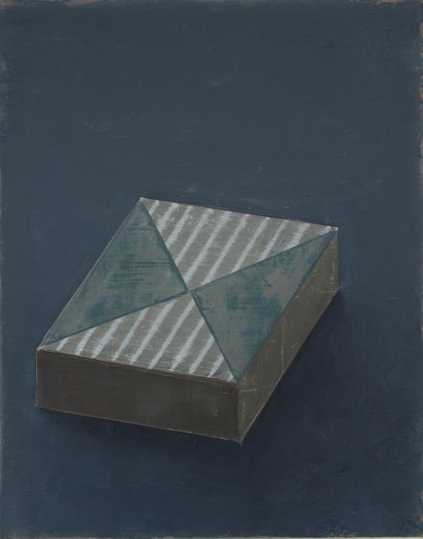 Pius Fox: Schatulle, 24 x 19 cm, Öl auf Papier, 2013