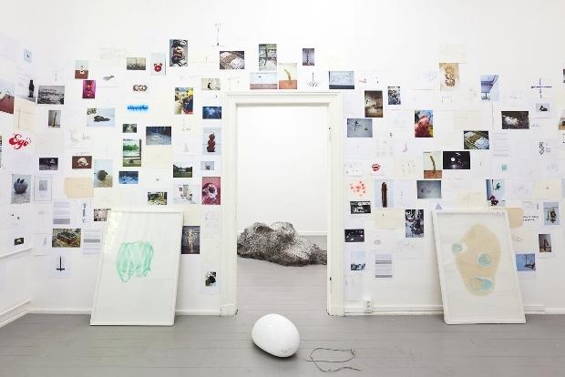 Kristof Kintera: Installation View © Balint-Maggyesi und Courtesy Jiri Svestka | Berlin
