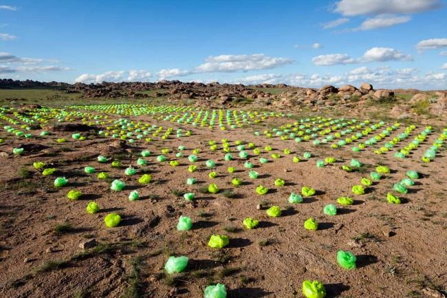Avrabbou_Xenakis - Beitrag Land Art Biennale Mongolia 2012