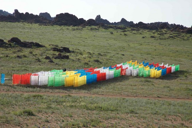 Haiyuan_Wang - Beitrag Land Art Biennale Mongolia 2012
