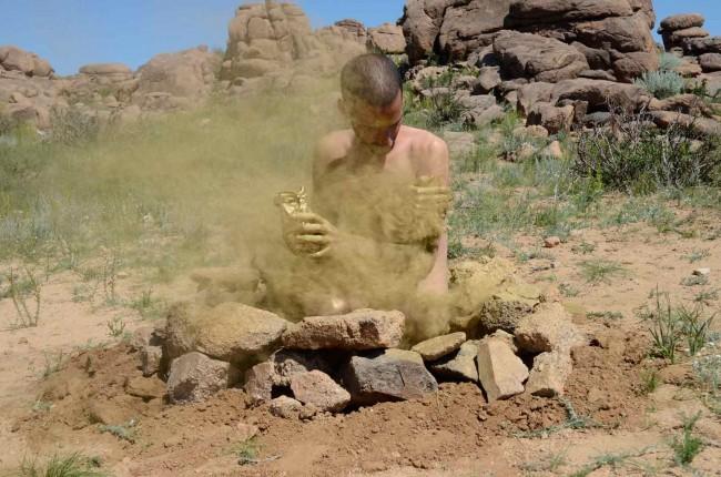 Marcus_Vinicius - Beitrag Land Art Biennale Mongolia 2012