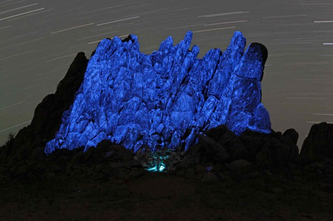 Max Schneider - Beitrag Land Art Biennale Mongolia 2012