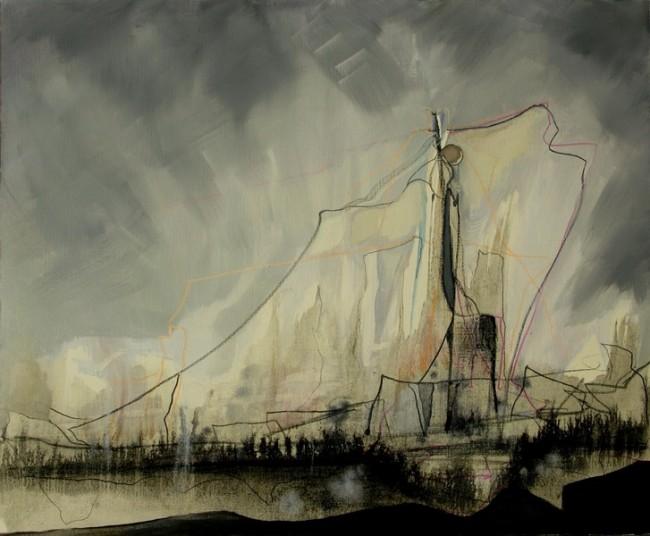 Thorsten-Dittrich: Grenzwerte, Öl auf Leinwand, 48x56cm, 2012