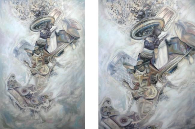 Thorsten Dittrich: Taktgeber. Öl auf Leinwand. 120x80cm, 2011 (Original / Détail)