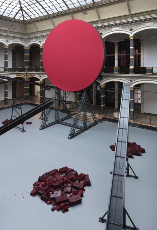 Anish Kapoor: Symphony for a Beloved Sun, 2013 / Mixed media / Dimensions variable / Installation view: Martin-Gropius-Bau, 2013 / Photo: Jens Ziehe. Courtesy the artist. © Anish Kapoor / VG Bildkunst, Bonn, 2013