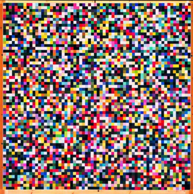 Gerhard Richter: 4096 Farben, 1974, 254 x 254 cm, Lackfarbe auf Leinwand | Privatsammlung © Gerhard Richter, 2012