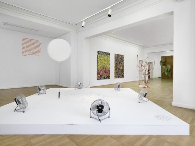 Søren Kierkegaard - Entweder / Oder, Ausstellungsansicht Haus am Waldsee, 2013, Foto: Bernd Borchardt