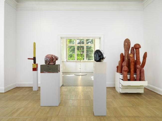 Søren Kierkegaard – Entweder / Oder, Ausstellungsansicht Haus am Waldsee, 2013, Foto: Bernd Borchardt