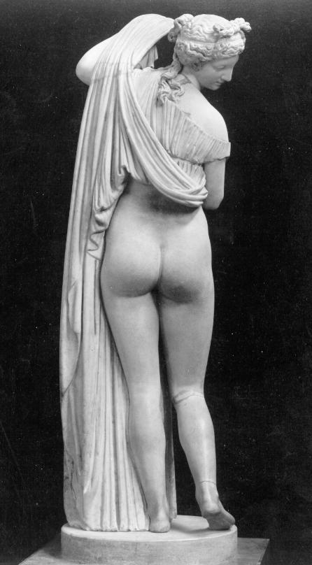 Aphrodite Kallipygos, eine Berlin-Touristin aus Neapel.