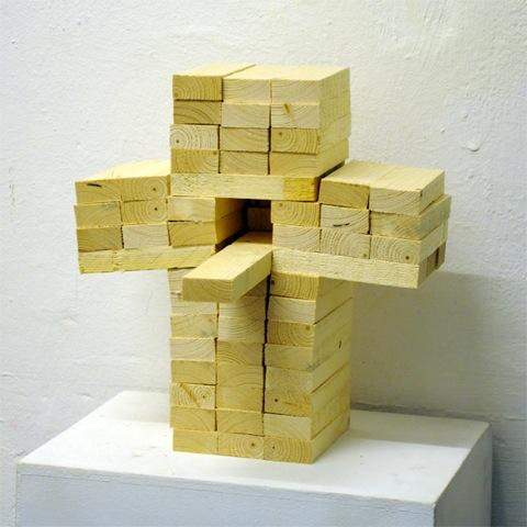 Benedikt Braun: Vogelhaus II, 2011 / © Benedikt Braun und Galerie Eigenheim, Weimar
