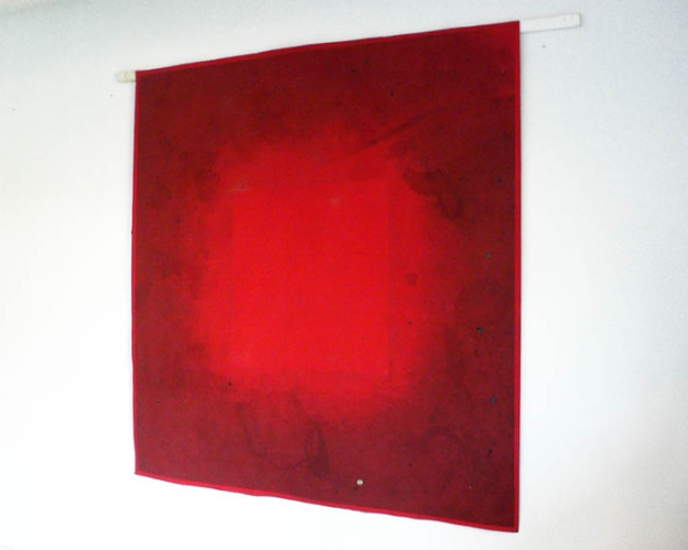 Stefanie Pürschler: ArtFair. Relief-Teppich, 200 x 200 cm, 2008 © Stefanie Pürschler