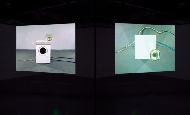 Eternal Rotation - Video installation by Maurice Doherty