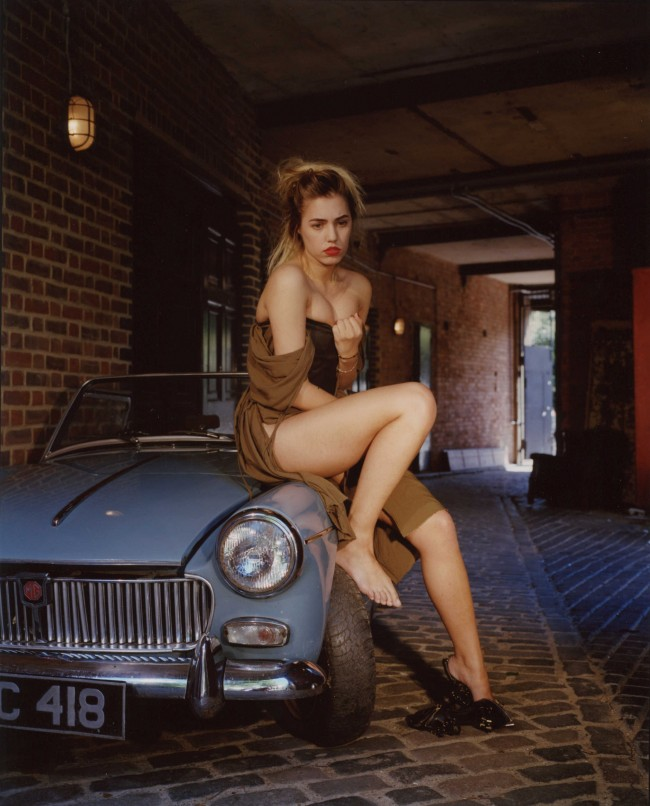 Bettina Rheims: Amber le Bon has lost her car keys. Bonkers - A fortnight in London. © Bettina Rheims