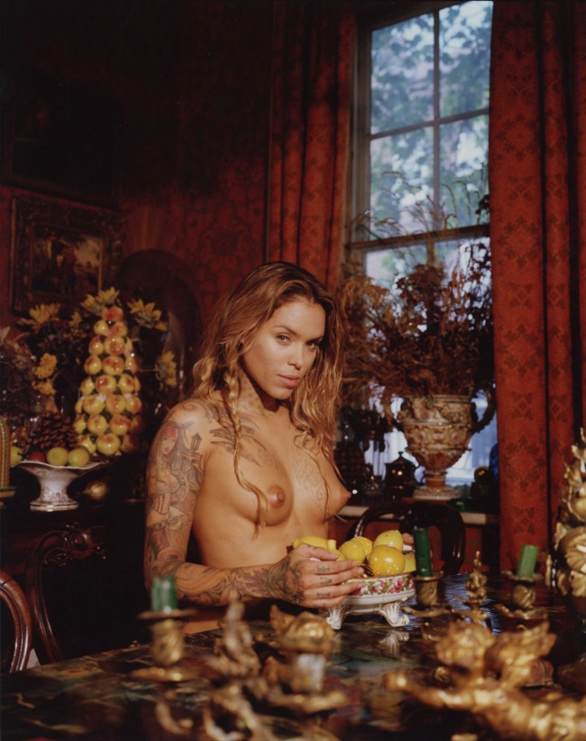 Bettina Rheims: Arabella Drummond Pirat and Fire Artist. Bonkers - A fortnight in London. © Bettina Rheims