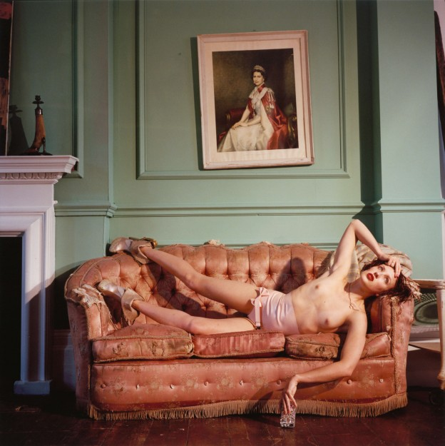 Bettina Rheims: Georgie Bee wearing her own amazing shoes. Bonkers - A fortnight in London. © Bettina Rheims