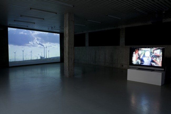 Francisco Montoya Cázarez: The Spell from Sonora. Installation view at the Kunsthalle Wilhelmshaven (Photo by Nora Heinisch)