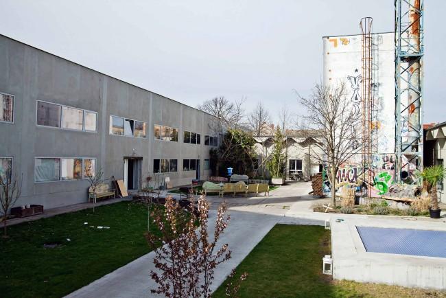 """Ateliergelände Lehderstraße 34, Berlin Weißensee, """"Grounds"""" © Heiko Laschitzki"""