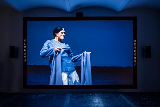 Wu Tsang, Duilian (production still), 2016. Courtesy Wu Tsang; Galerie Isabella Bortolozzi, Berlin, Photo: Ringo Tang